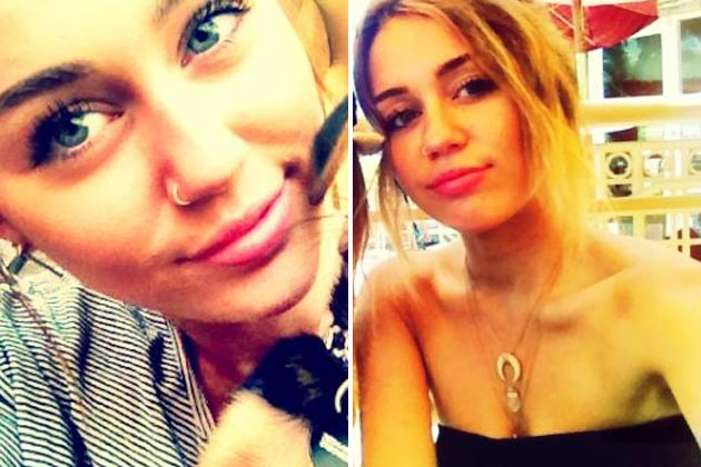 "omg! LOOK: Miley Cyrus im ""Grease""-Look"
