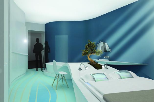 Die hotelzimmer der zukunft for Hotelzimmer teilen