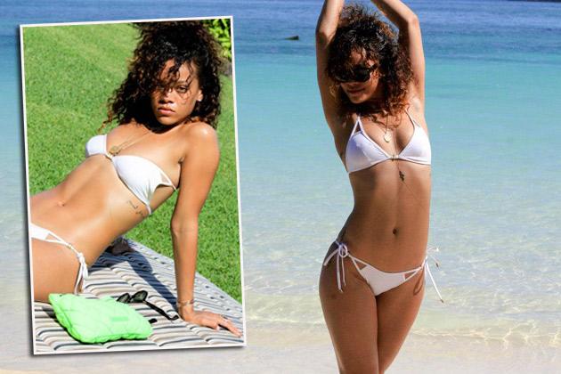 Rihanna nackt Bild frei