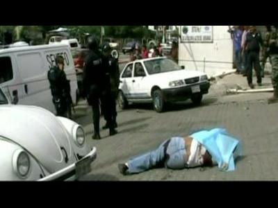 Five slain in Mexico resort city