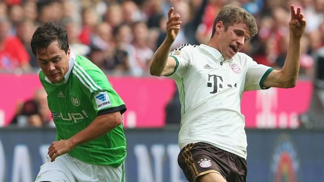 Video: Bayern Munich vs Wolfsburg