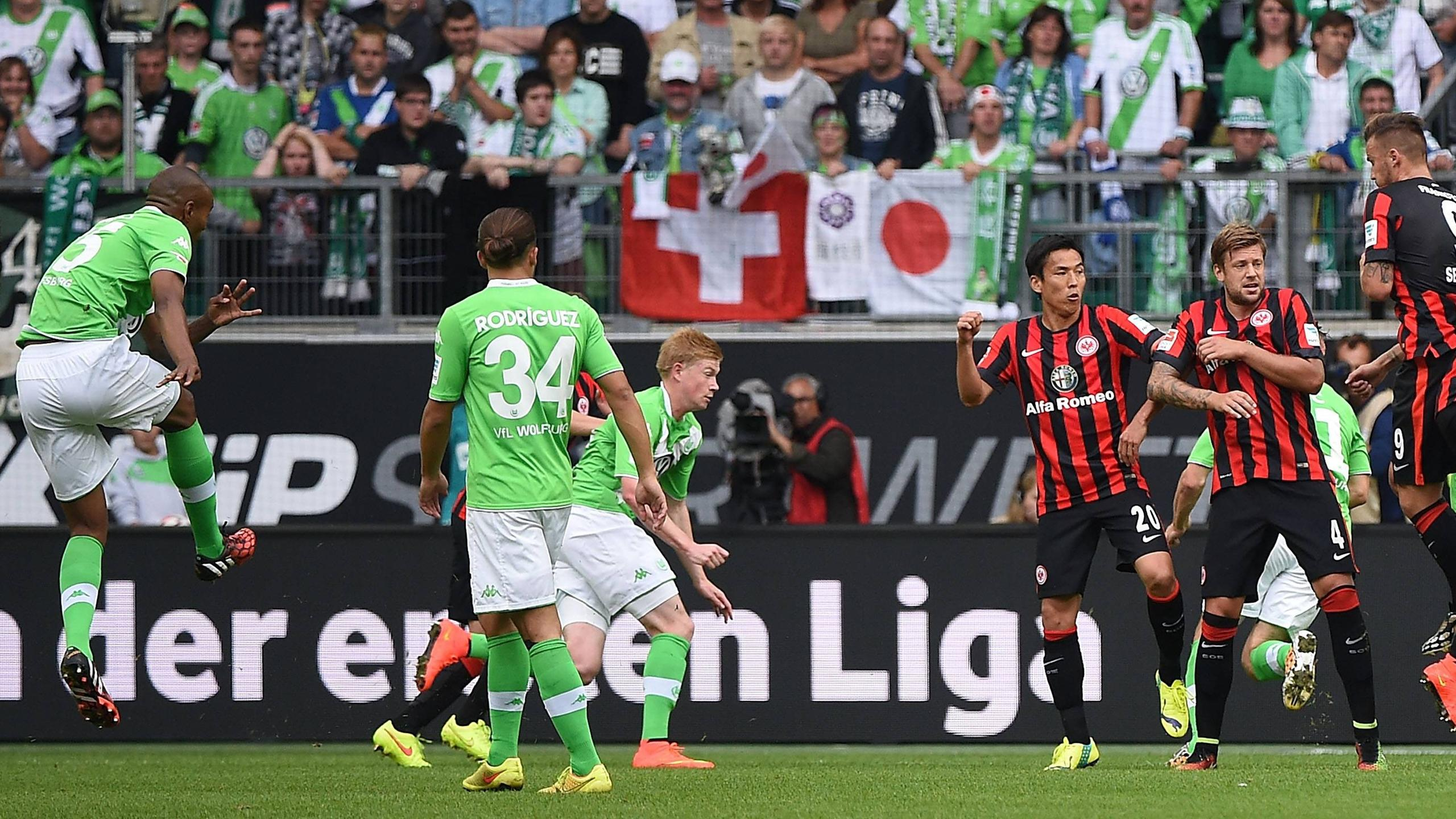 Video: Wolfsburg vs Eintracht Frankfurt