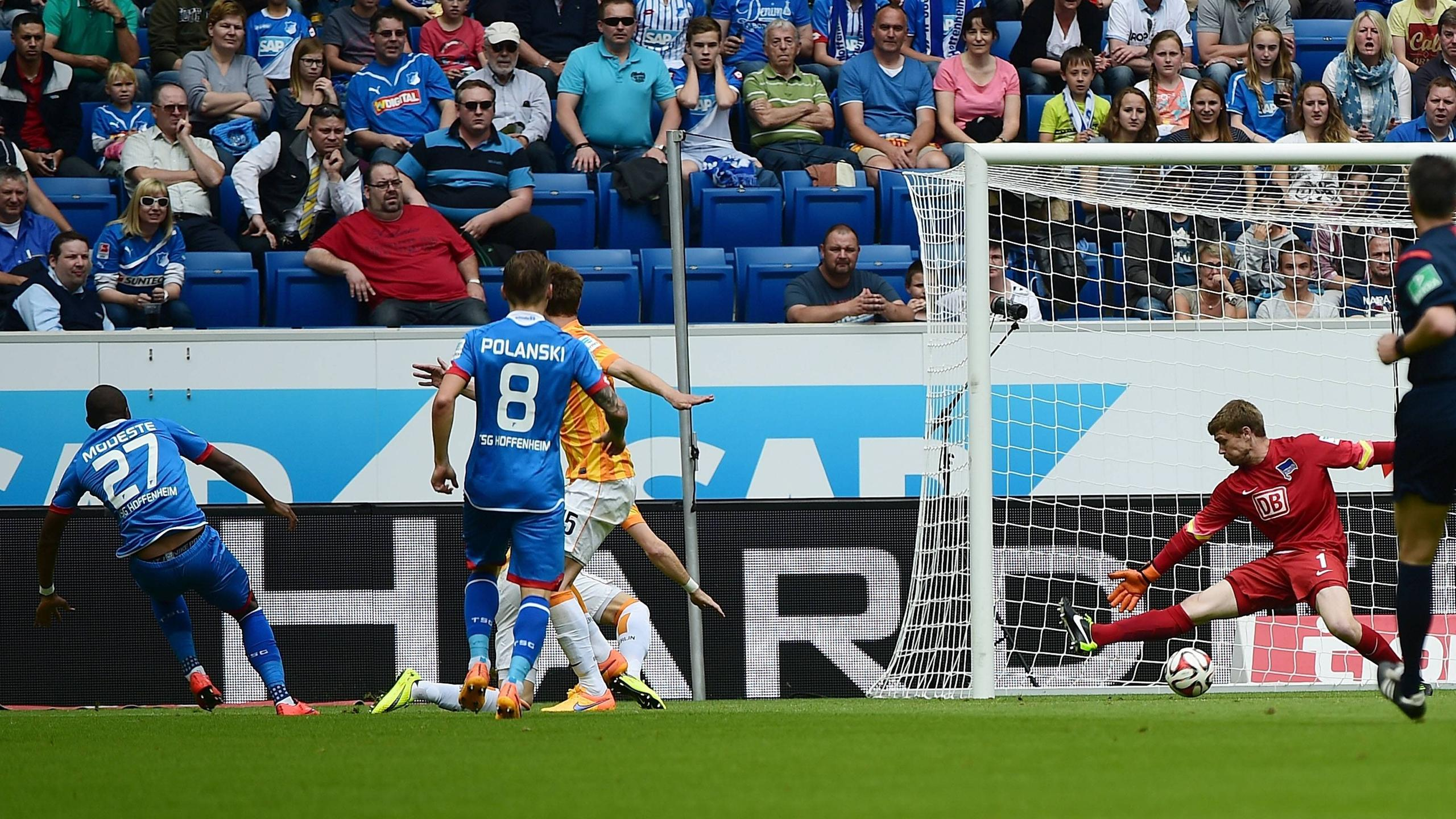 Video: Hoffenheim vs Hertha BSC