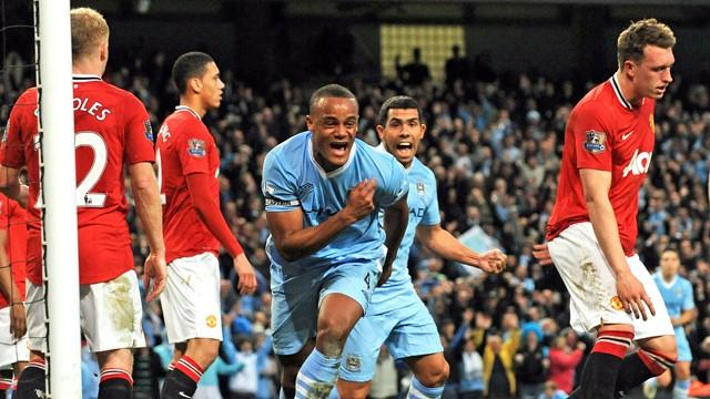 City schockt United im Manchester-Derby