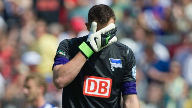 Hertha blamiert sich in Worms