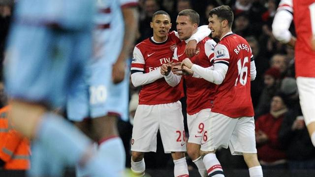 Premier League - Podolski �berragt bei Arsenal-Sieg