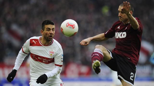 Bundesliga - FCN stoppt Stuttgarter Aufwrtstrend