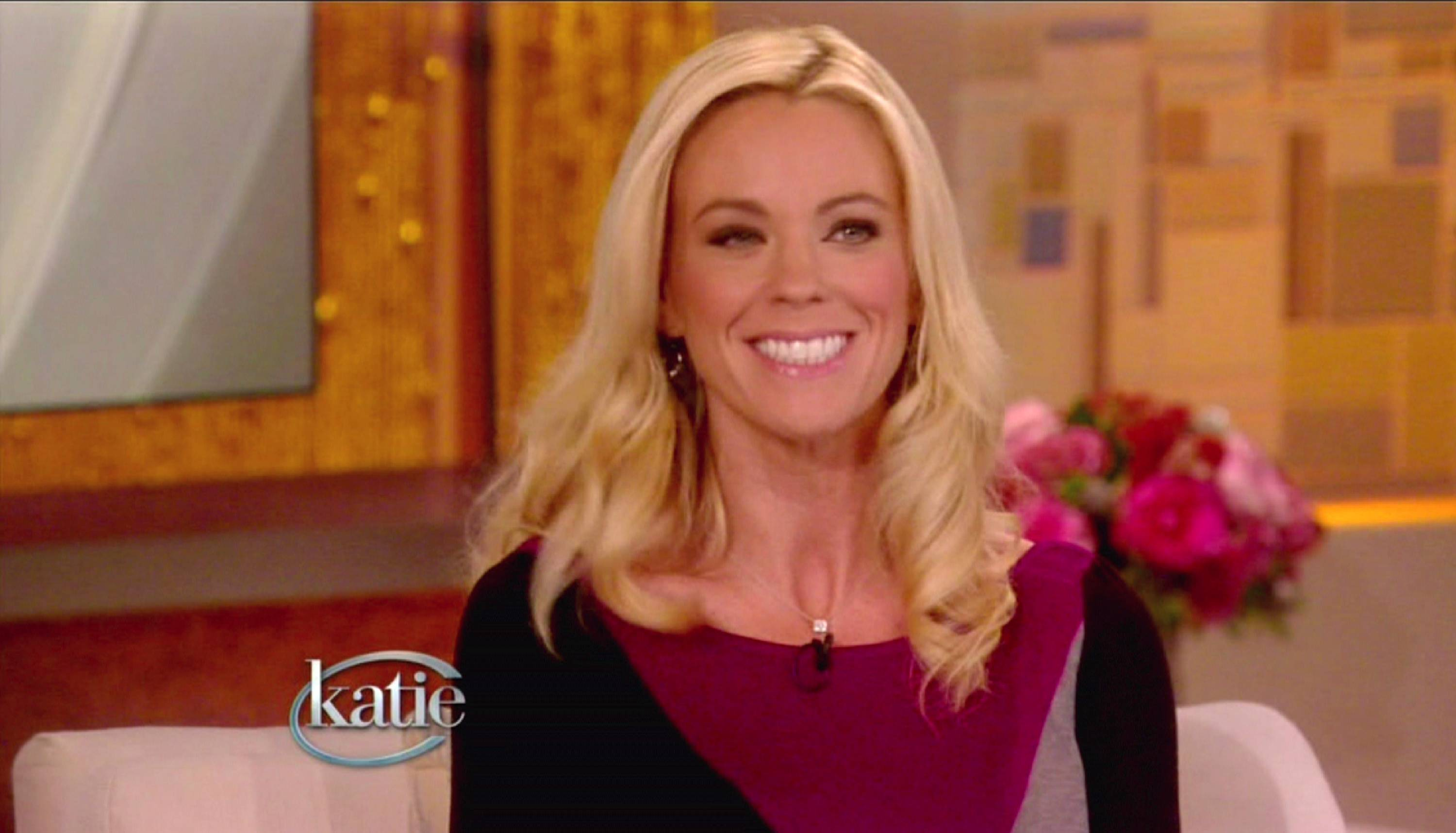 "Kate Gosselin appears on ""Katie"""