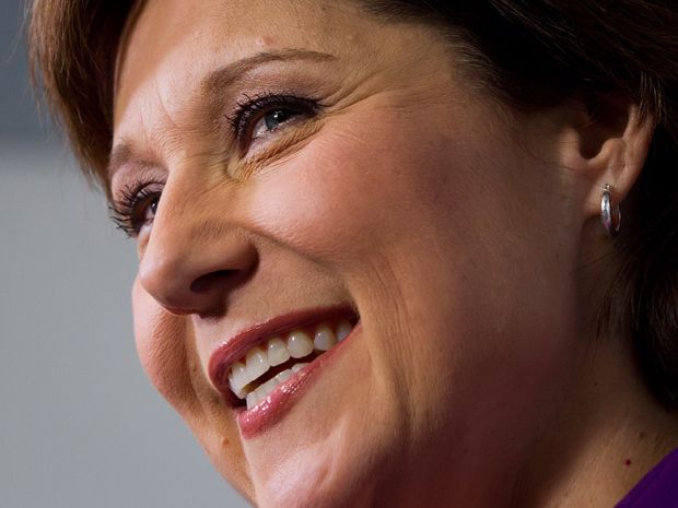 B.C. Premier Chrisy Clark (Photo courtesy of the Canadian Press)