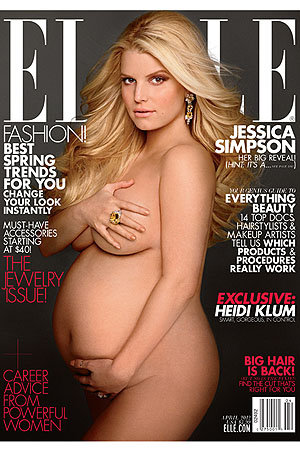 Jessica Simpson. (Carter Smith/Elle)