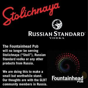 Vancouver bar at the heart of Russian vodka boycott to protest anti-gay laws
