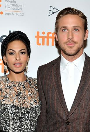 Mendes and Gosling at the 2012 Toronto International Film Festival. (Sonia Recchia/Getty Images)