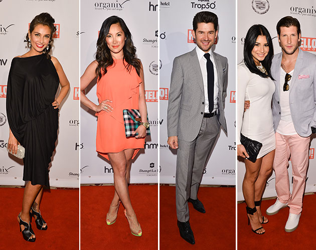 Lisa Ray, Tanya Kim, Matt Dusk, Bianka Kamber and Brad Smith. (George Pimentel/Getty Images)