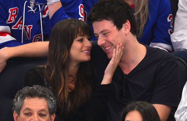 Lea Michele and Cory Monteith (Wireimage)