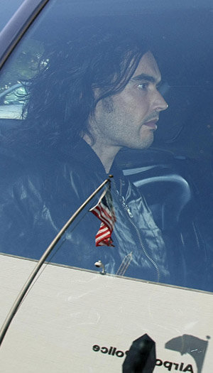 Russell Brand (Clint Brewer/Banks/Splash News)