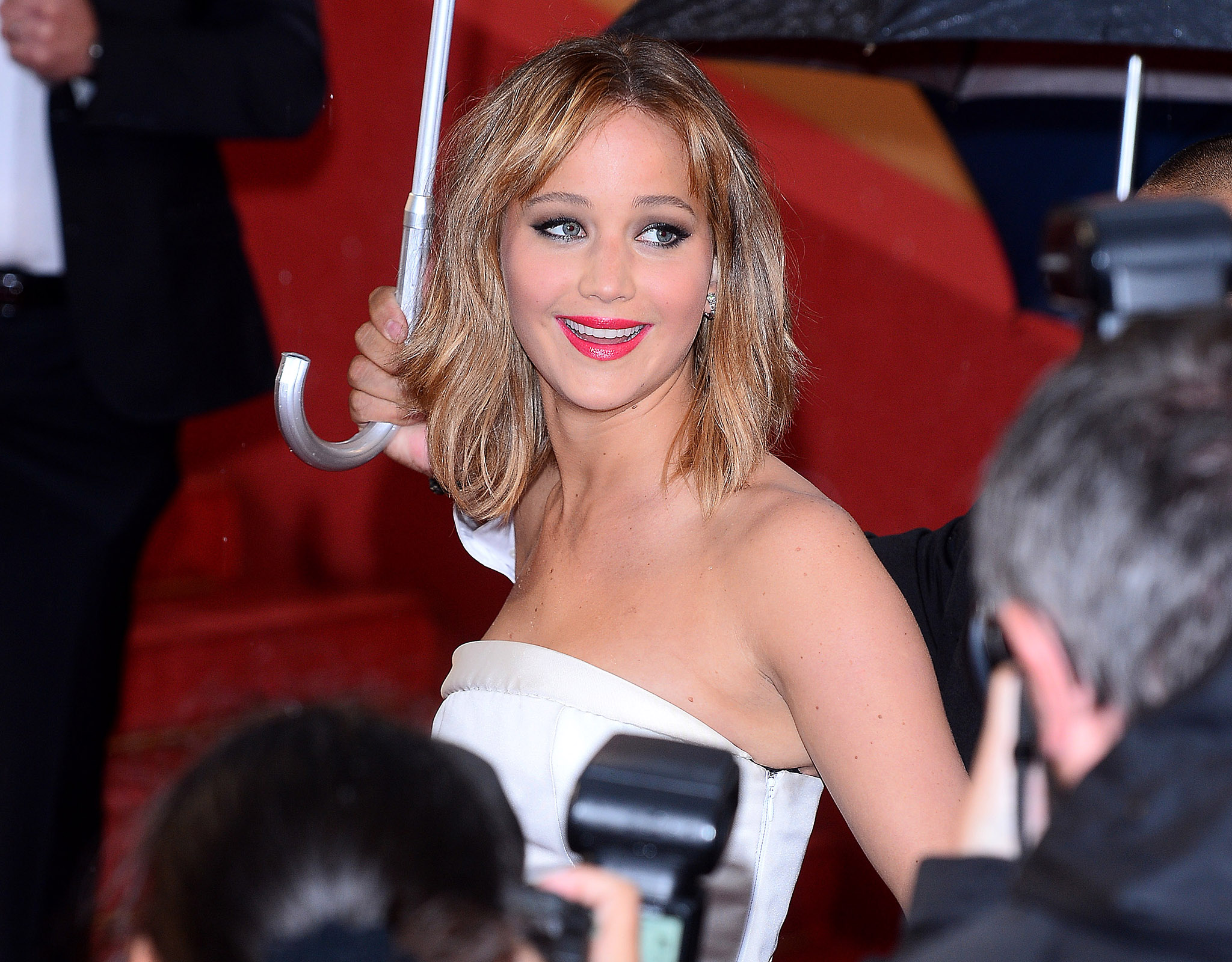 Our girl, Jennifer Lawrence. (Splash News)