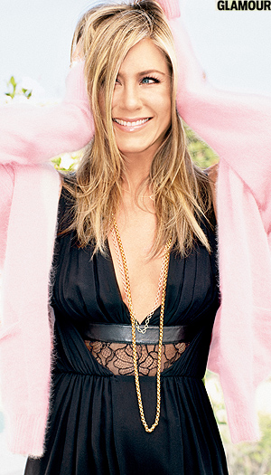 Jennifer Aniston in Glamour magazine (Alexei Hay/Glamour)