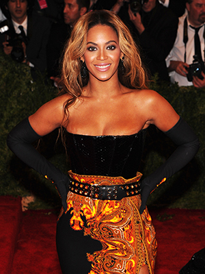 Beyonce Knowles at the Met Gala (Getty Images)