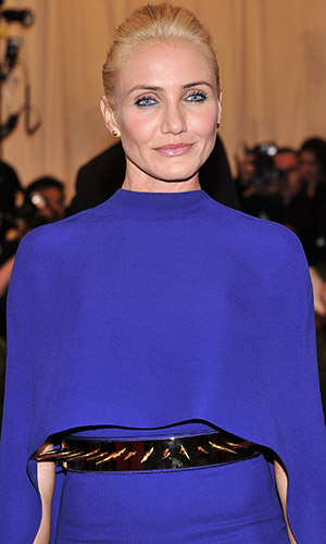 Cameron Diaz at the 2013 Met Gala (Stephen Lovekin/FilmMagic)