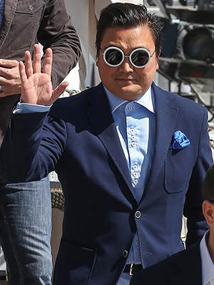 Psy imposter in Cannes (Filmmagic)