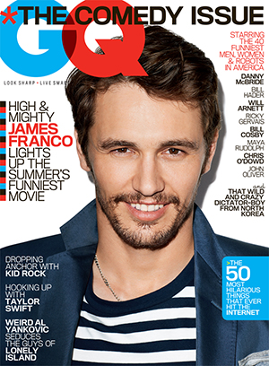 James Franco (Terry Richardson/GQ)