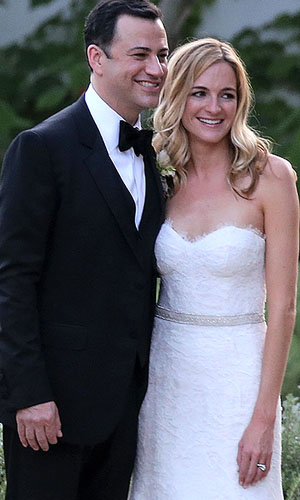 Jimmy Kimmel and Molly McNearney (Splash News)