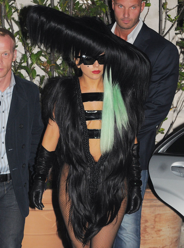 Lady Gaga Hair Dress