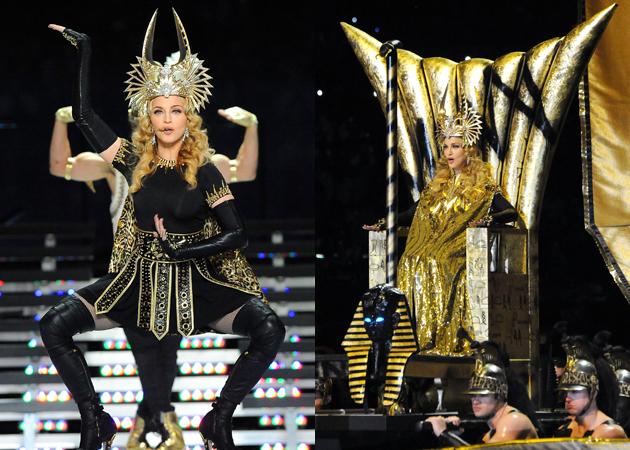 """""""Rihanna performing """"Cockiness"""" at iHeartRadio festival"""": Mega ritual de culto a Horus Madonna-super-bowl-4"""