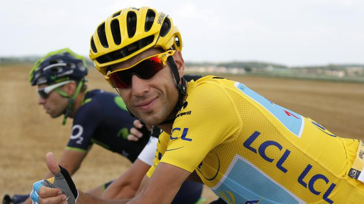 Photo: Best rider: It's impossible to look beyond Astana's Nibali, the Italian national champion, who wore the yellow jersey for 18 out of 21 stages.