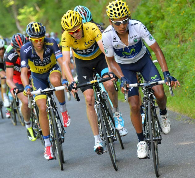 Photo: the only major absentees of this year's Vuelta are the men who lit up the race the last time round: veteran American Chris Horner and man-of-the-moment Vincenzo Nibali.