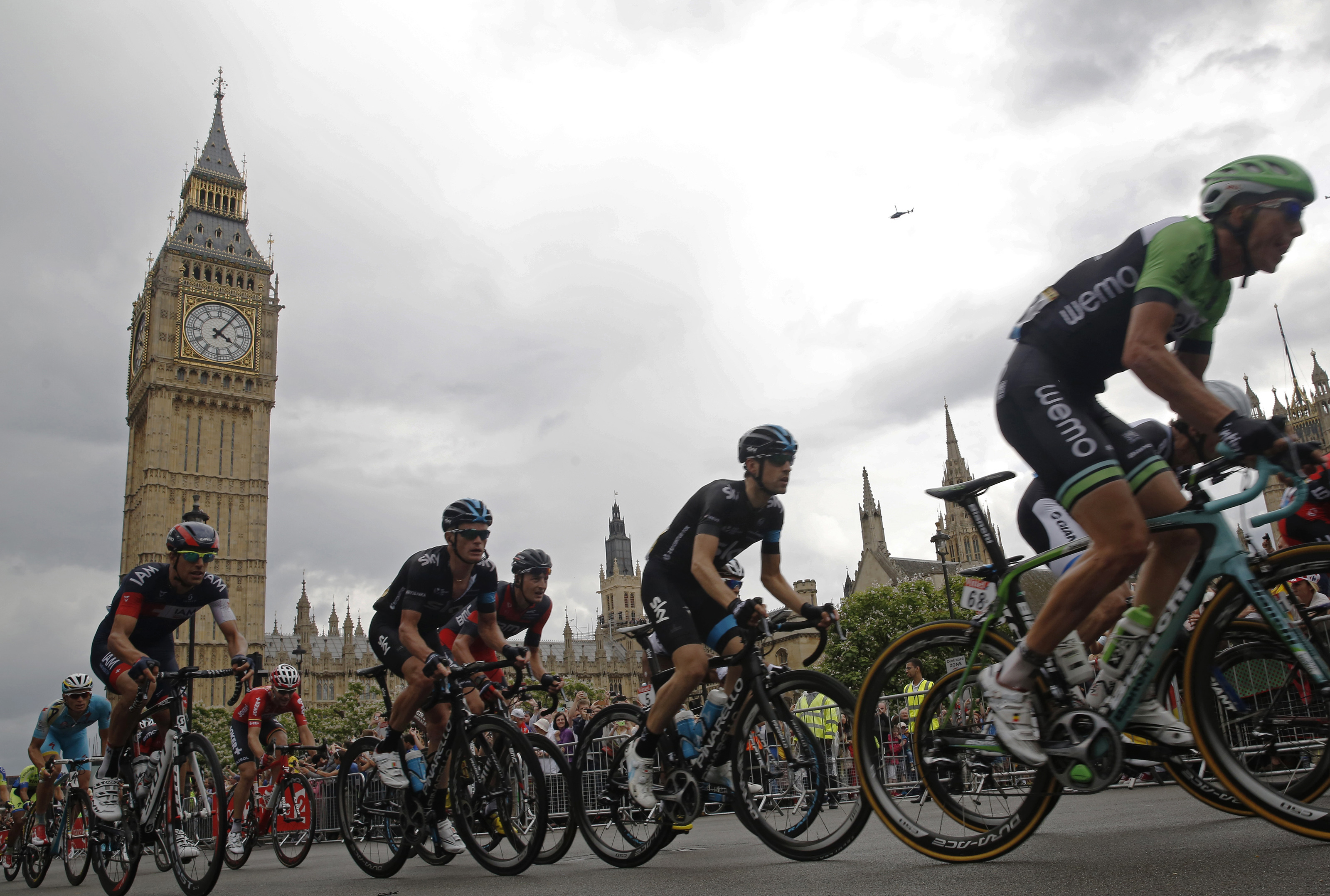 Photo: some of the stand-out stories that illuminated stage 3 to London.