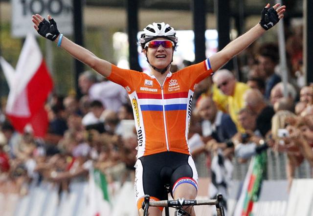 Photo: Dutch superstar Marianne Vos.