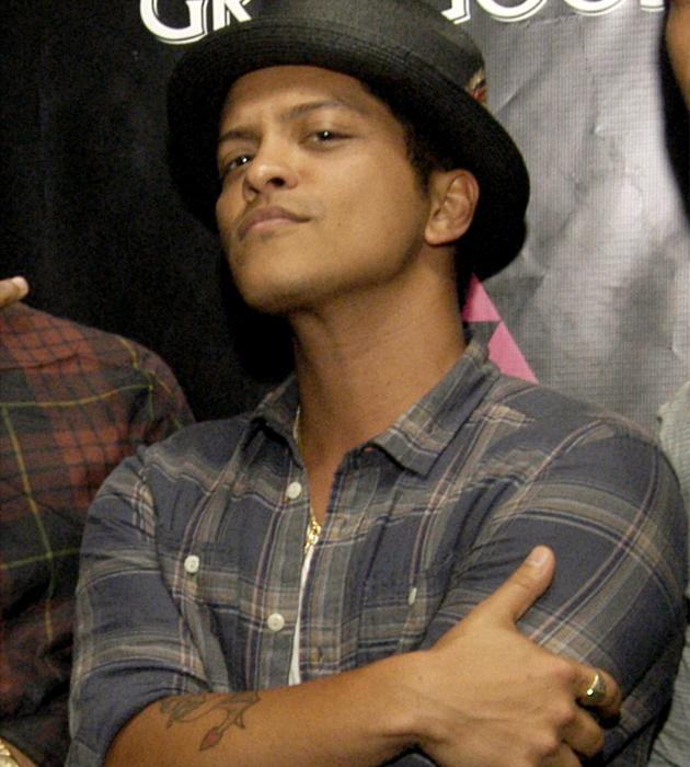Bruno Mars - Wallpaper Actress