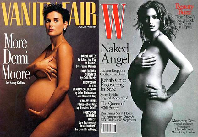 Magazine nude model gail