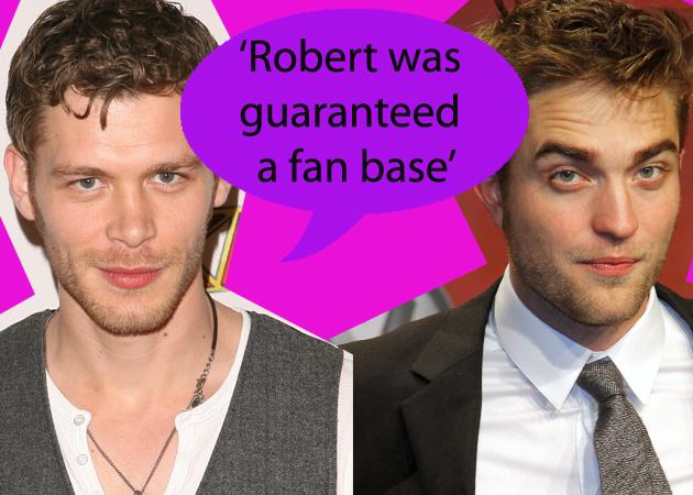 El actor Joseph Morgan de la serie 'The Vampire Diaries' habla sobre la fama y la carrera de Robert Pattinson. Robert-pattinson-and-joseph-morgan