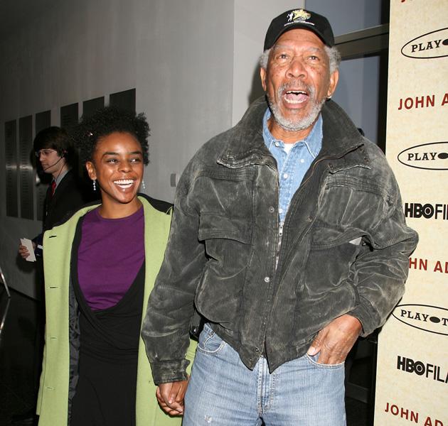 morgan freeman is dating his step granddaughter