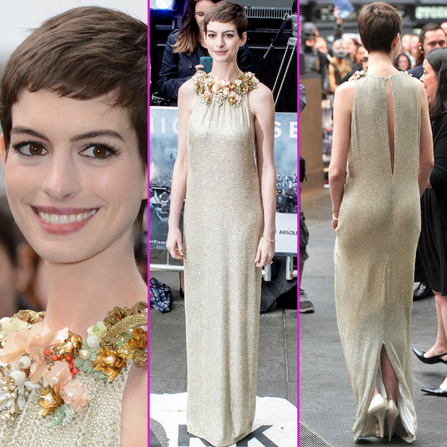 Anne Hathaway Baby: ANNAI-ILLAM: Anne Hathaway Fuels Pregnancy Rumours At Dark