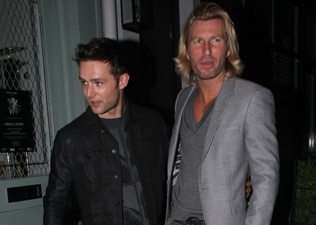 harry judd and robbie savage Bromance Robbie Savage has found a new friend