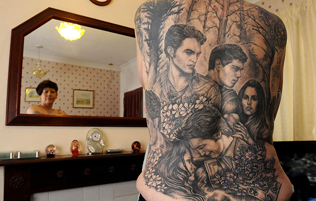 Crazy things twilight fans have done for Twilight movie tattoo