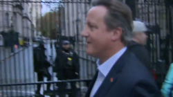 David Cameron Spotted In Westminster, Says He 'Fully Supports' Theresa May