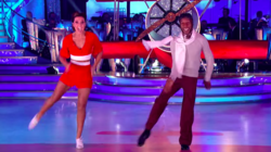 'Strictly' Star Danny John-Jules Bags First 10 Of The Series For Jive Routine