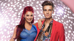 Joe Sugg And Dianne Buswell Are *Really* Bored Of Those 'Strictly Curse' Rumours Now Guys