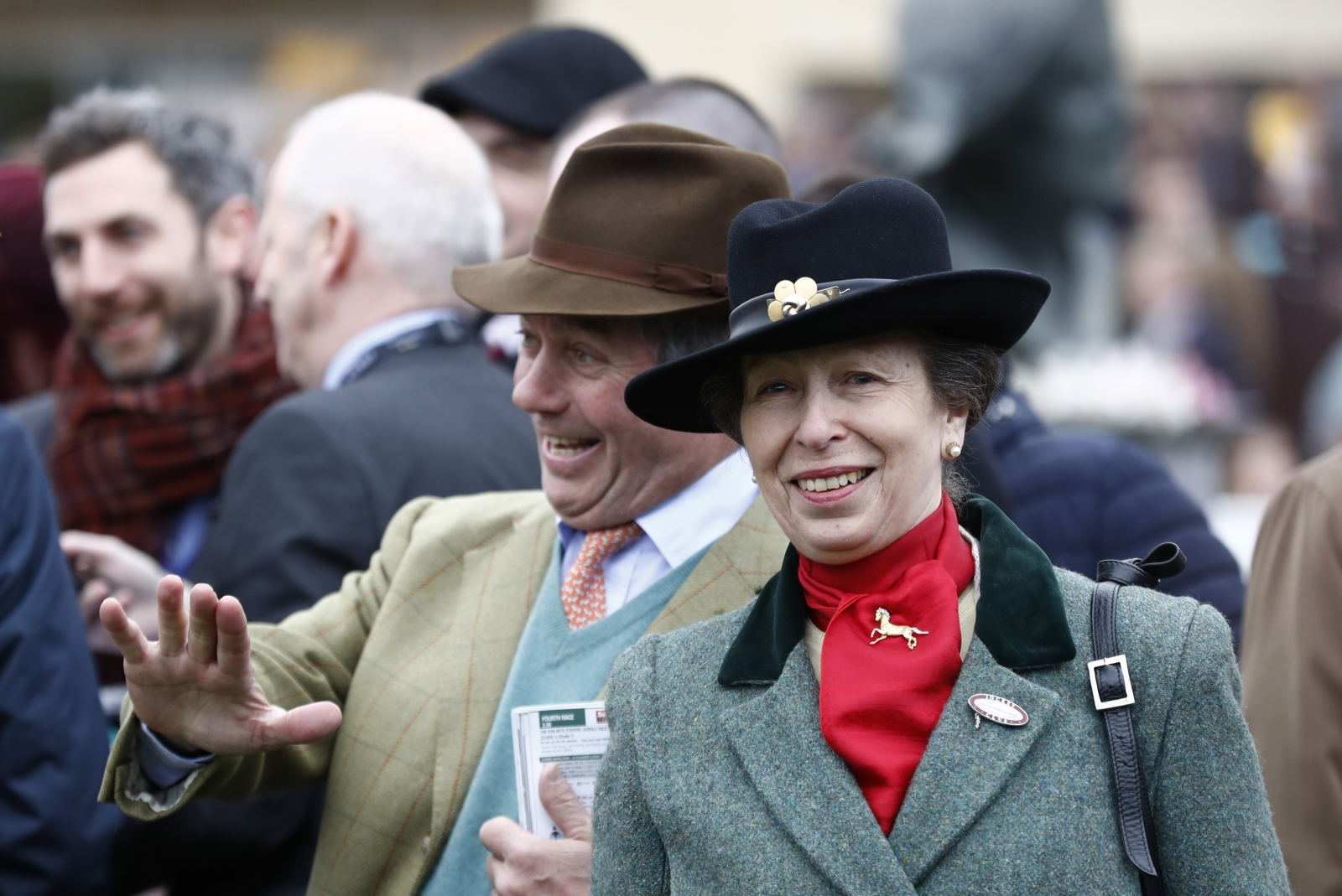 Princess Anne at Cheltenham Festival