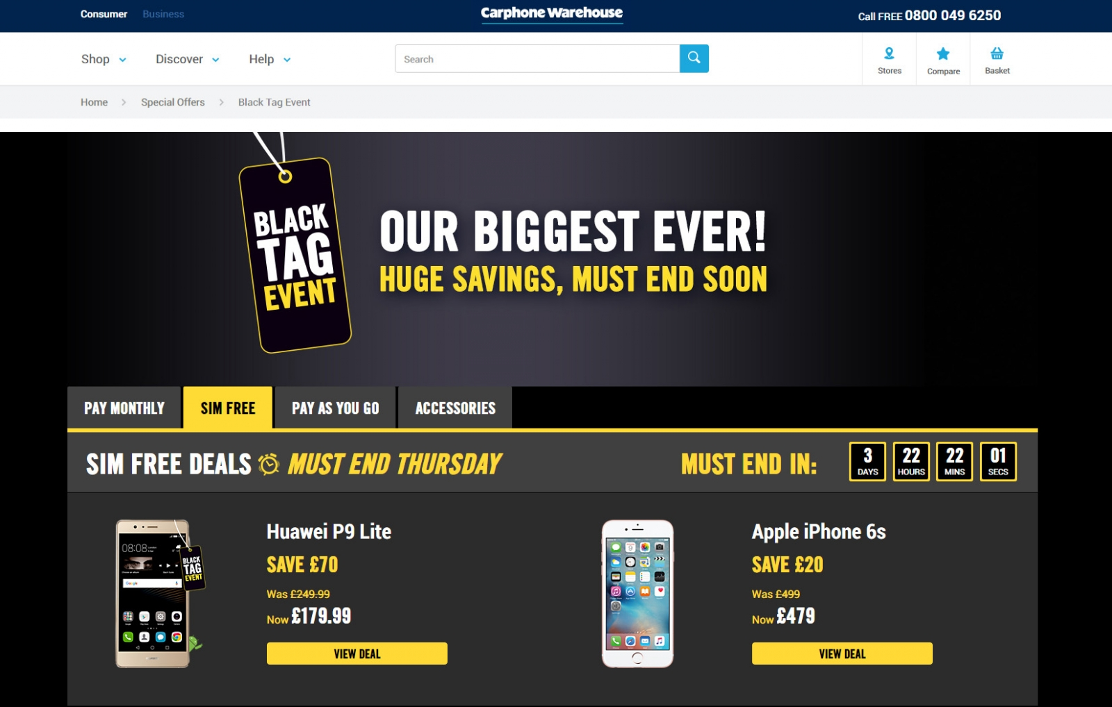 Pay Monthly Sim Only Deals - Carphone Warehouse