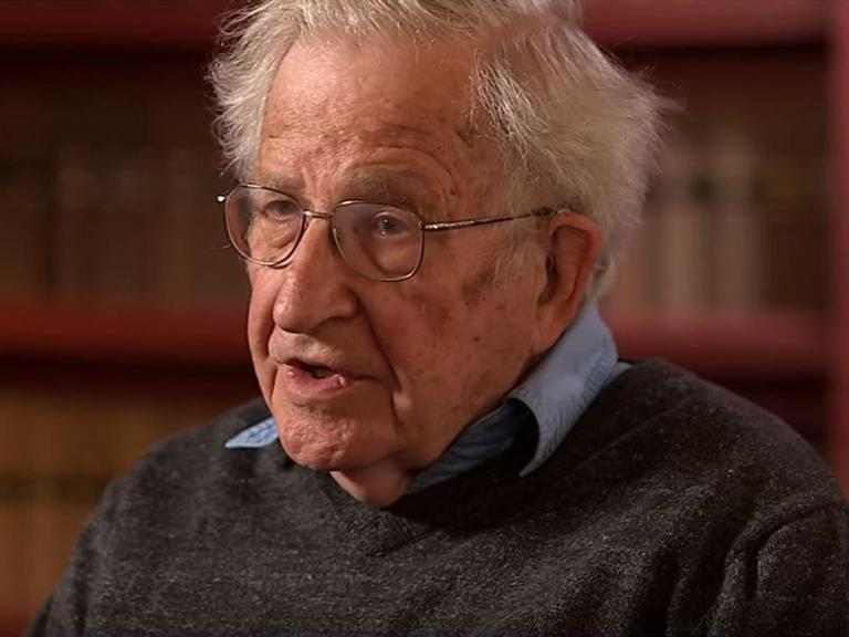 Noam Chomsky: Antifa is a 'major gift to the right'