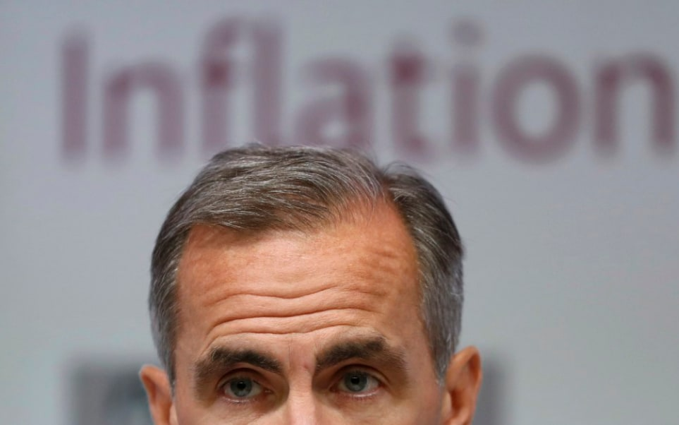 Pound unsettled by Mark Carney speech warning of 'limited' and 'gradual' interest rate rises; attention turns to Fed meeting