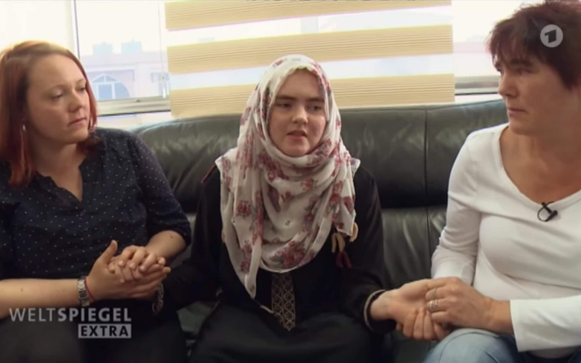 German teenager says she was 'idiot' for joining Isil, in first interview since capture