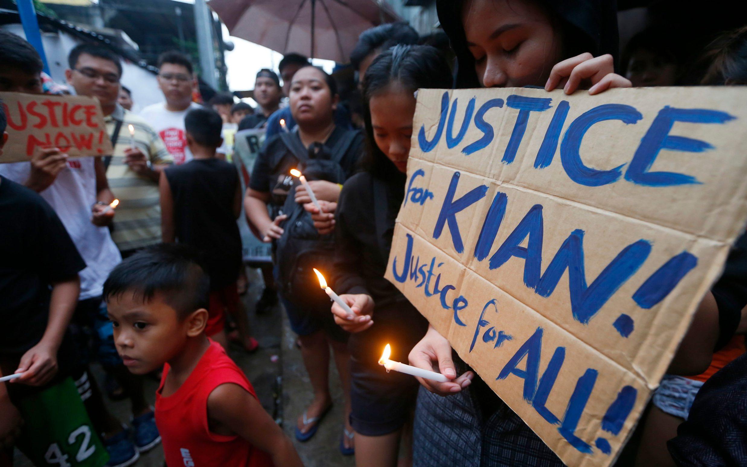 Duterte faces nationwide revolt over drugs war after killing of schoolboy sparks outrage