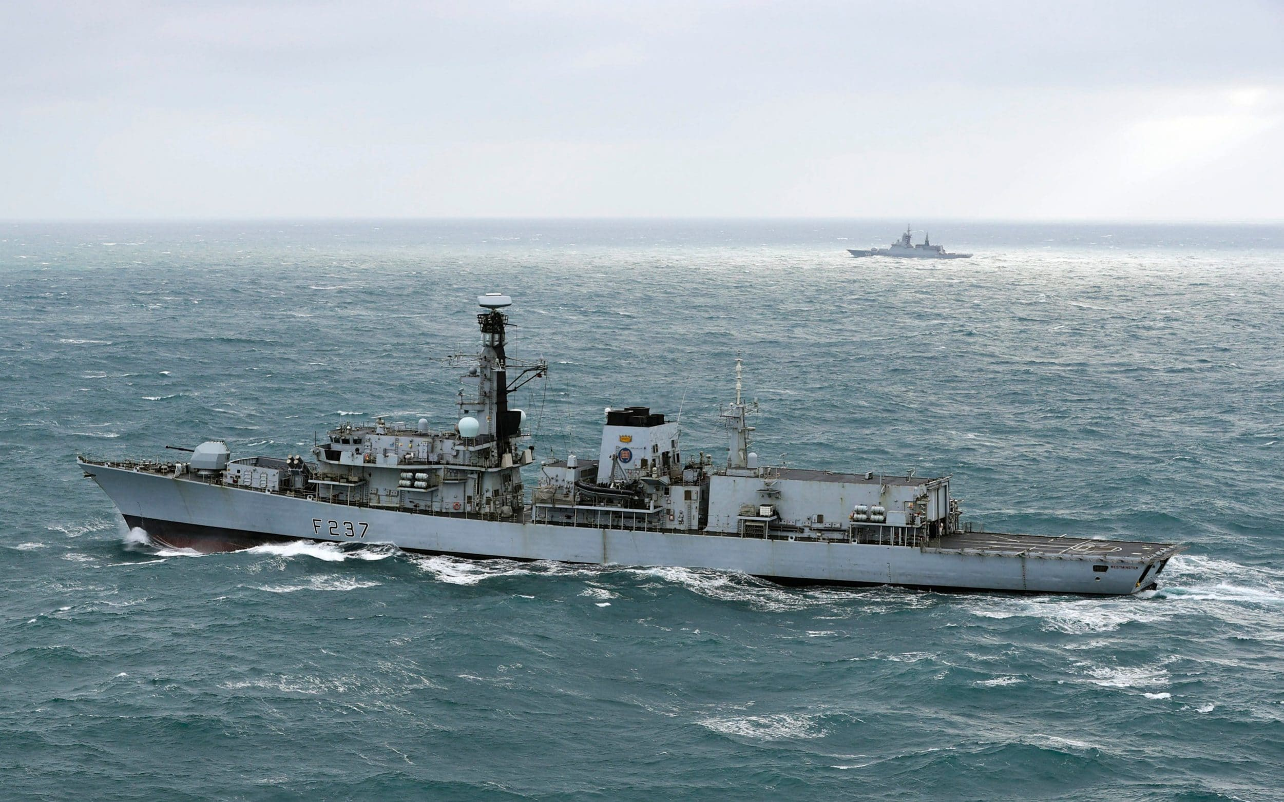 Royal Navy intercepts Russian naval ships in English Channel
