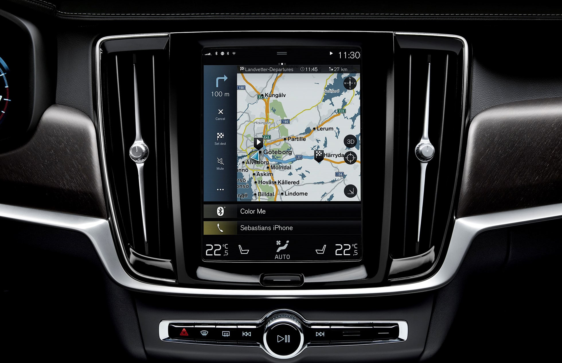 Volvo Sensus Navigation in V90 Cross Country